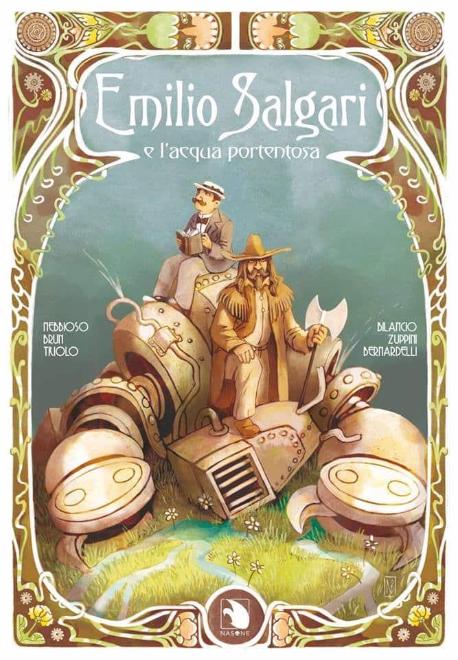 """Cyrano Comics presenta:""""Emilio Salgari e l'Acqua Portentosa"""""""