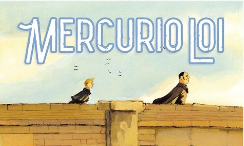 Mercurio Loi a passeggio per Roma