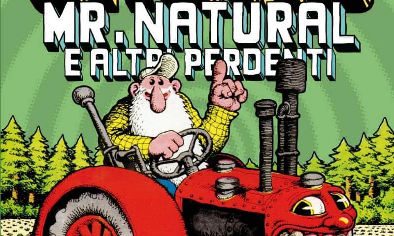 Anteprima di Mr. Natural, 4° volume della Collezione Crumb