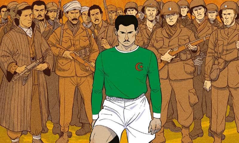 """Anteprima: """"Una maglia per l'Algeria"""" di Kris, Bertrand Galic, Javi Rey"""