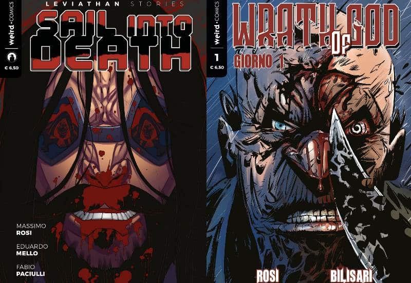 """Sail Into Death"" e ""Wrath of God"" sono le nuove uscite Weird Book"