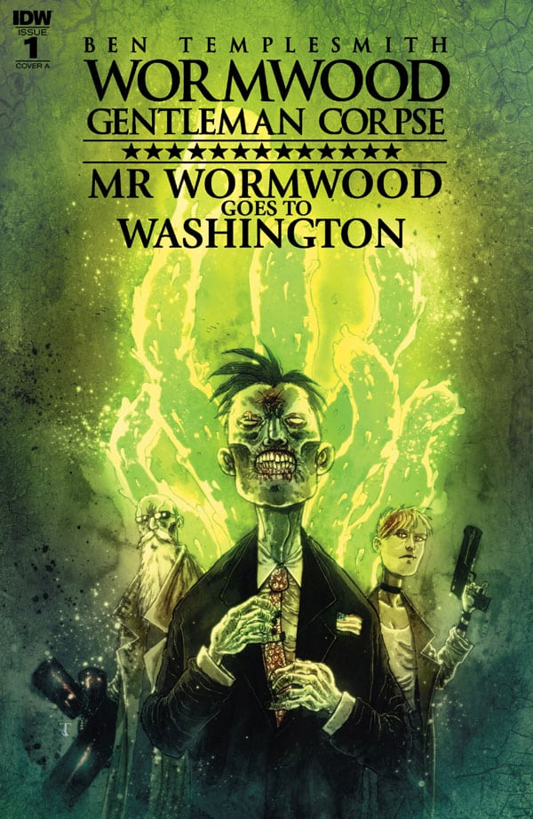 Wormwood, Gentleman Corpse - Mr. Wormwood Goes to Washington 1 600
