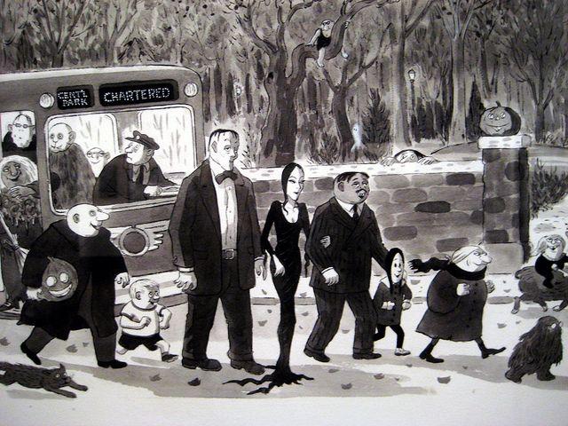La Famiglia Addams: Tim Burton al lavoro su nuova serie live-action