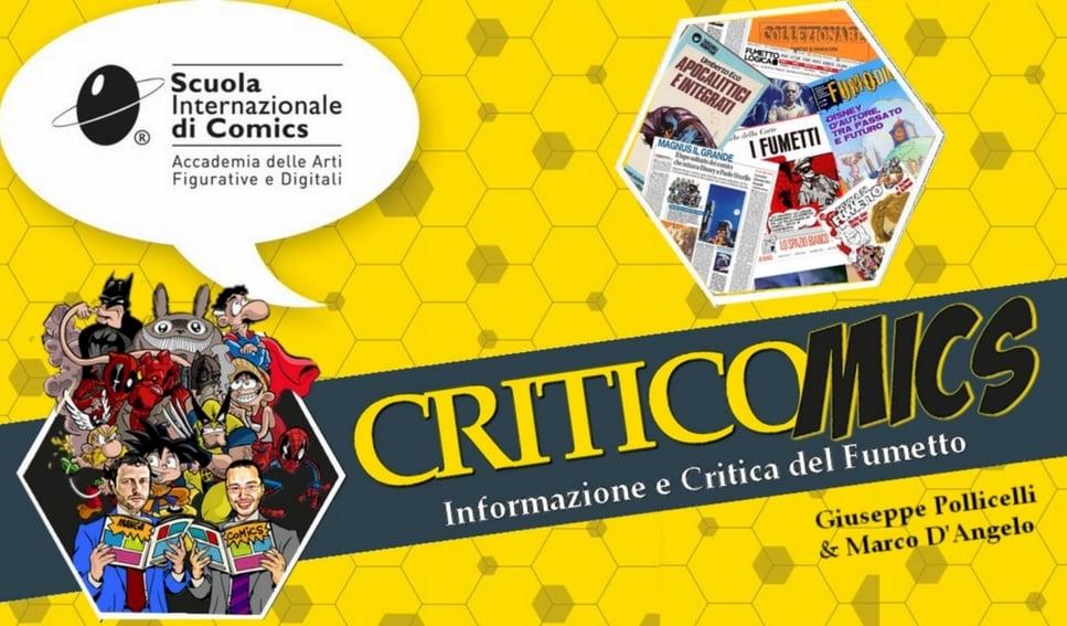 Criticomics: primo workshop dedicato alla critica sul fumetto