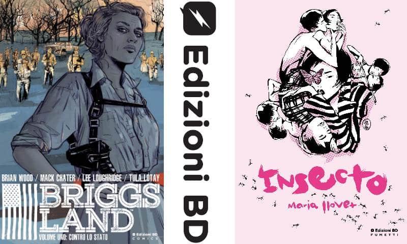 Edizioni BD, nuovi fumetti da Maria Llovet e Brian Wood