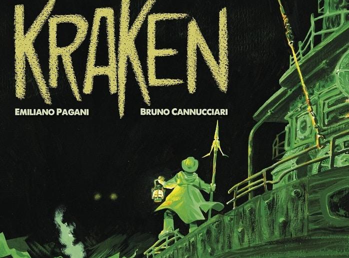 Anteprima: Kraken di Emiliano Pagani e Bruno Cannucciari