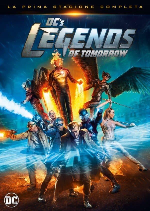 legends of tomorrow dvd 2d