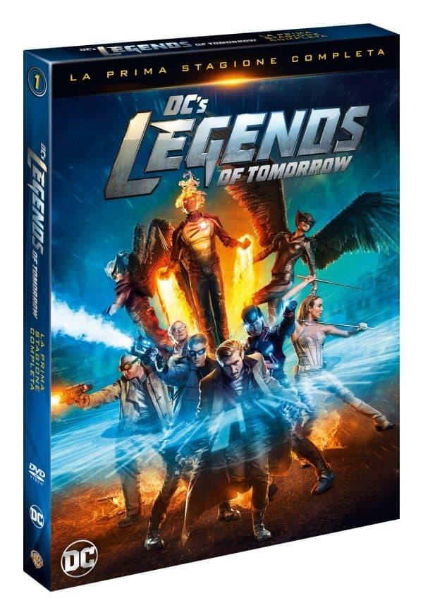 legends of tomorrow dvd 3d