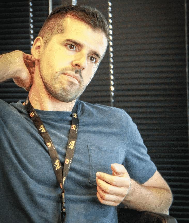 Tony Valente a Lucca Comics & Games 2017