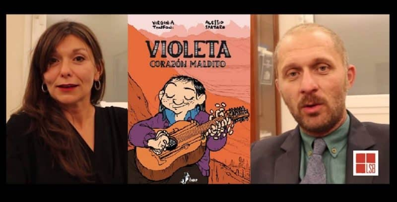 Violeta: video intervista a Virginia Tonfoni e Alessio Spataro