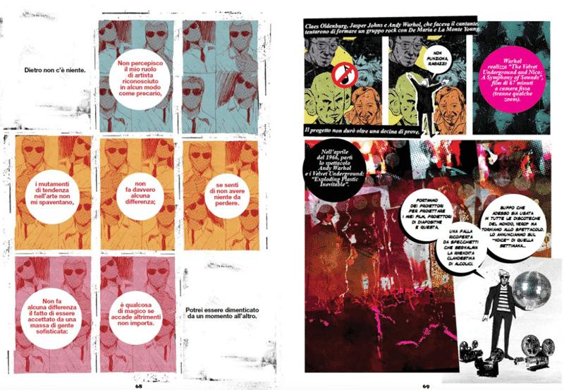 Mora, Wilson e Mozzato: contrasto di colori puri nel fumetto