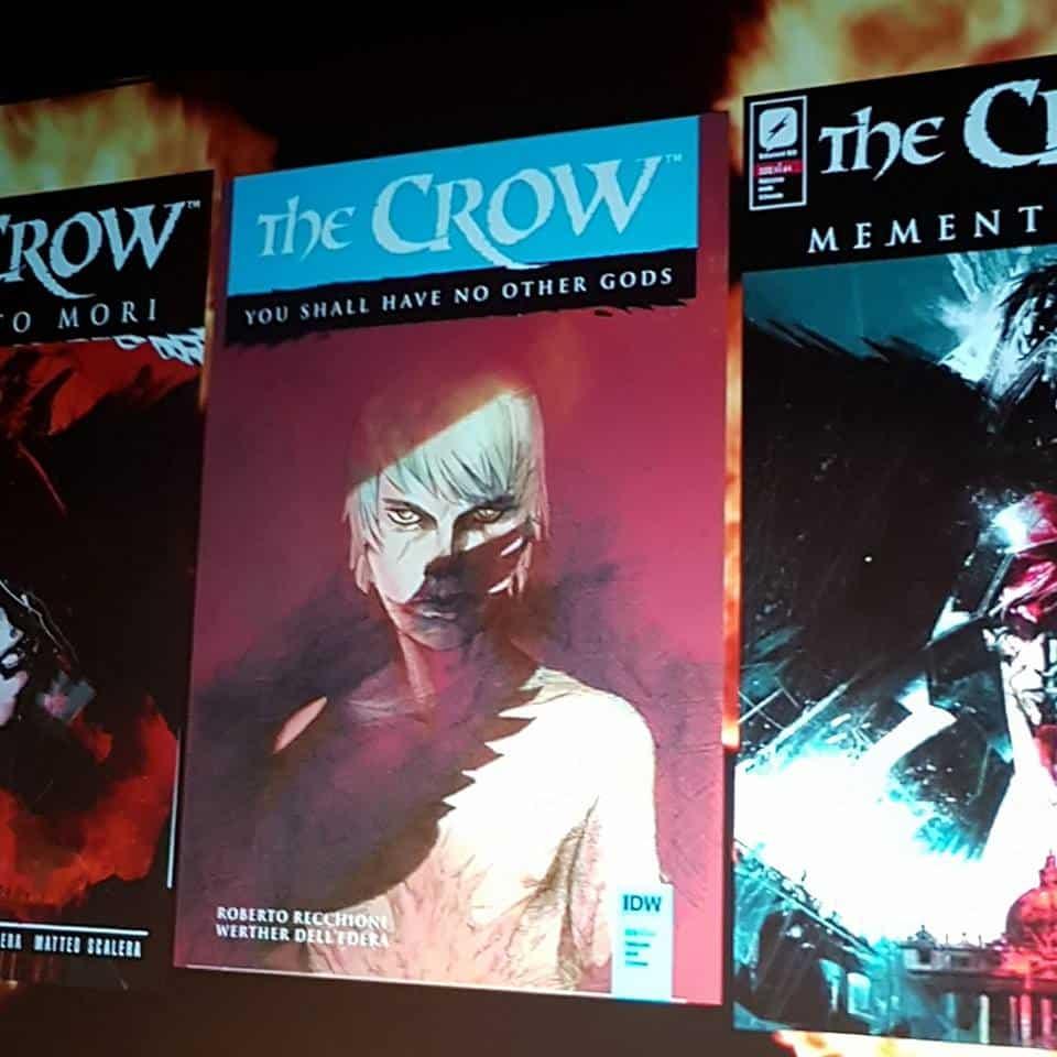 Recchioni, Dell'Edera e Niro sulla nuova mini di The Crow