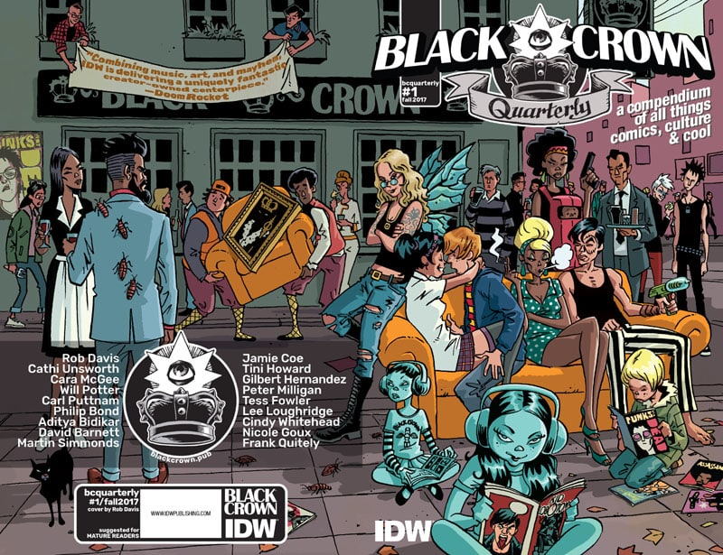 Black-Crown-Quarterly-1_cover_First Issue Recensioni