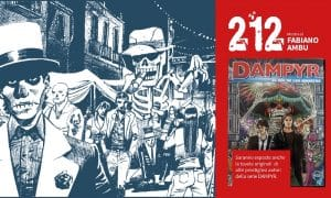 Dampyr 212 mostra - FB COVER