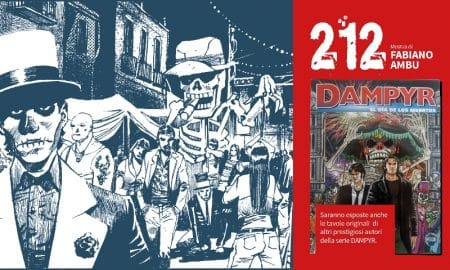 Dampyr 212 mostra - FB COVER