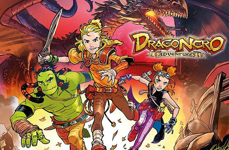 Dragonero Adventures #1 – Tre giovani eroi (Enoch, Crosa)