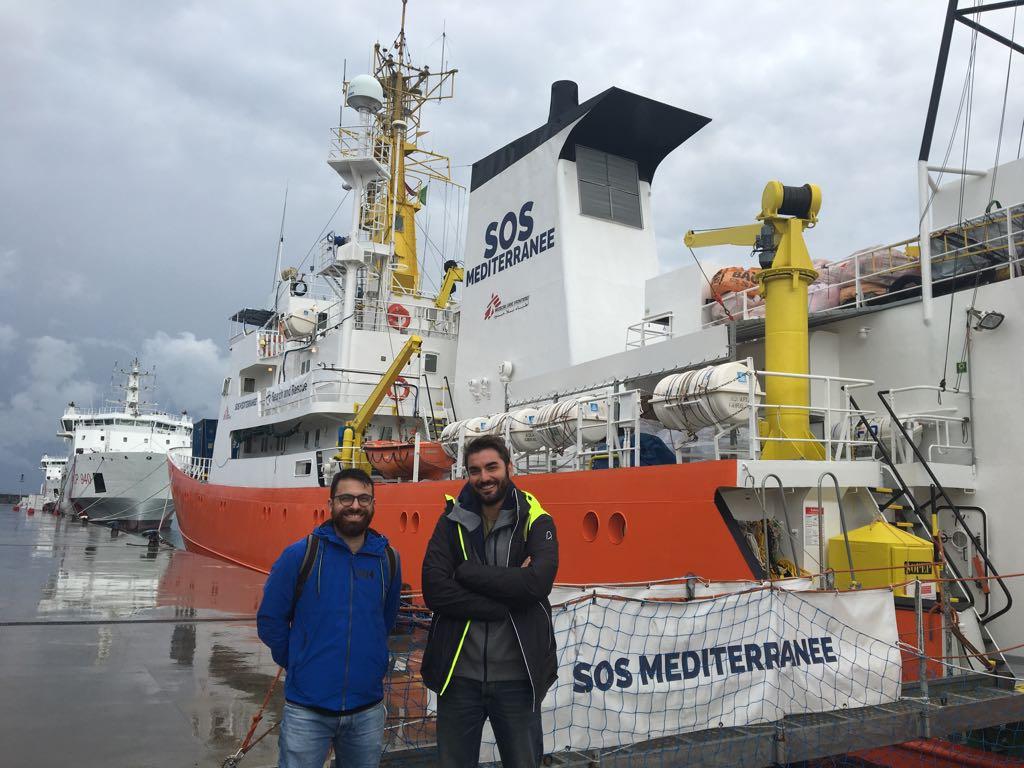 Salvezza: il fumetto realizzato su una nave di soccorso migranti