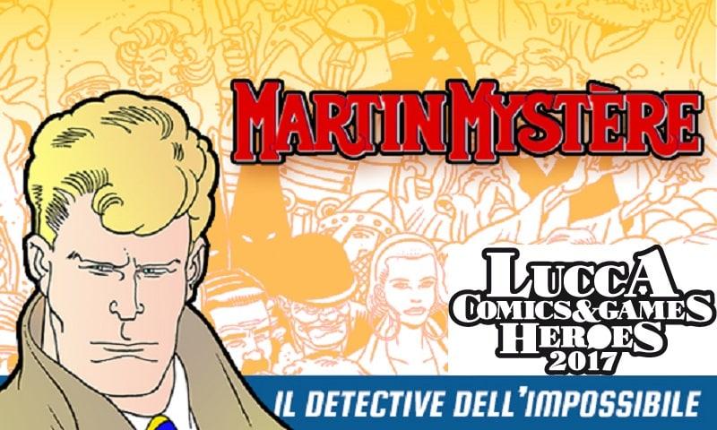 Lucca Comics 2017: il futuro di Martin Mystère