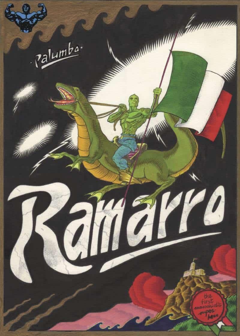 Ramarro: un supereroe masochista dagli anni '80_Recensioni