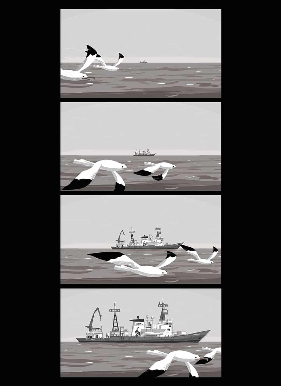 Salvezza: il fumetto realizzato su una nave di soccorso migranti_Notizie