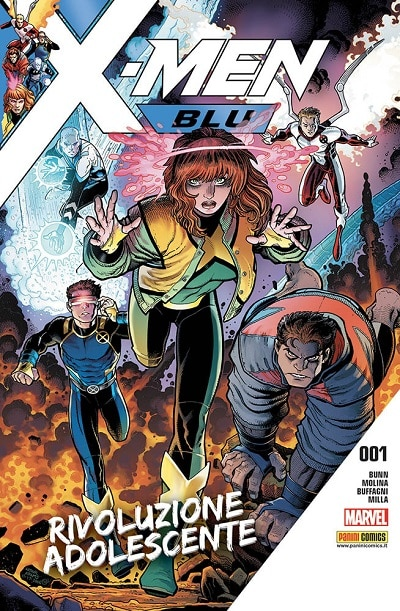 X-Men Blu #1 (Bunn, Molina, Buffagni, Height, Milla)