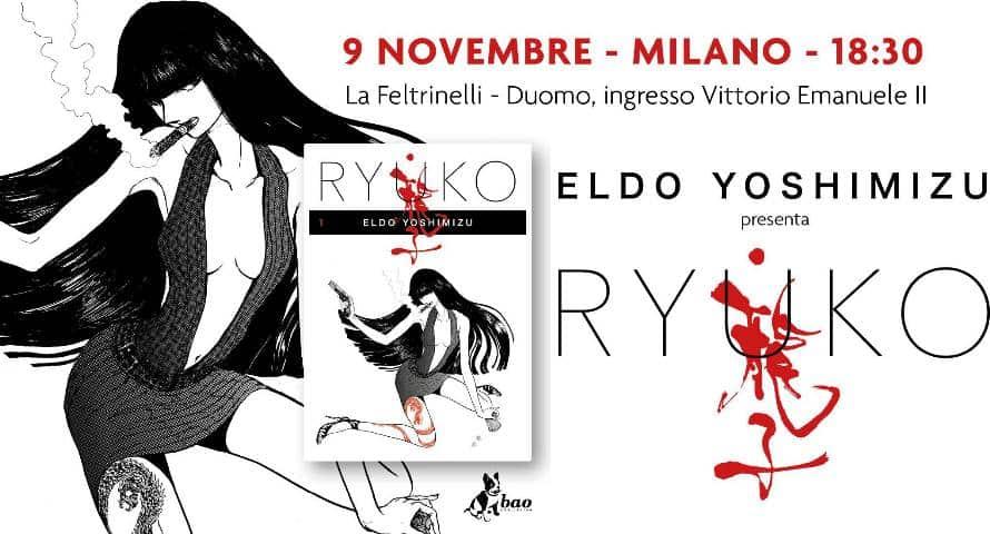 """Eldo Yoshimizu a Milano presenta """"Ryuko"""""""