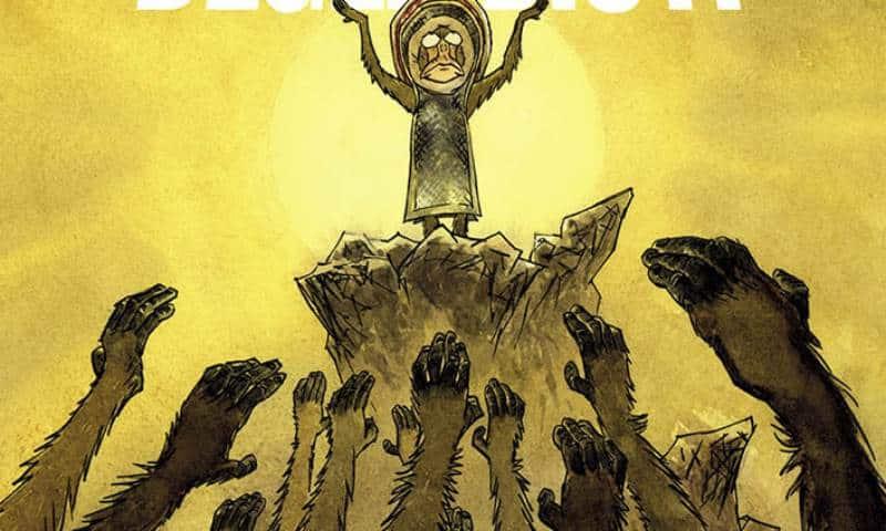 Fede, potere e desiderio: le scimmie di Krassinsky