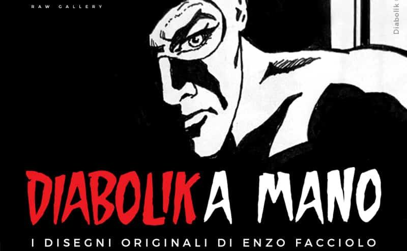 Diabolika mano: la mostra dedicata al papà di Diabolik