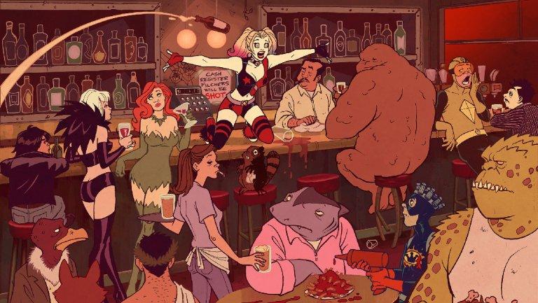 Serie animata su Harley Quinn in lavorazione