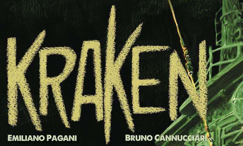 Kraken di Pagani e Cannucciari sarà pubblicato in Francia