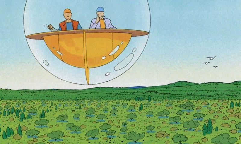 Un fumetto a forma di mondo: Edena di Moebius