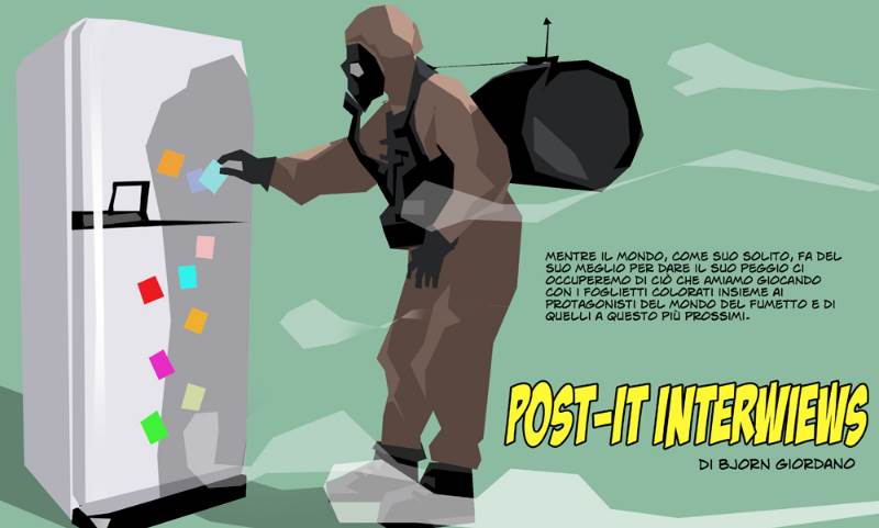 Post-It: Bjorn Giordano intervista Mattia Iacono