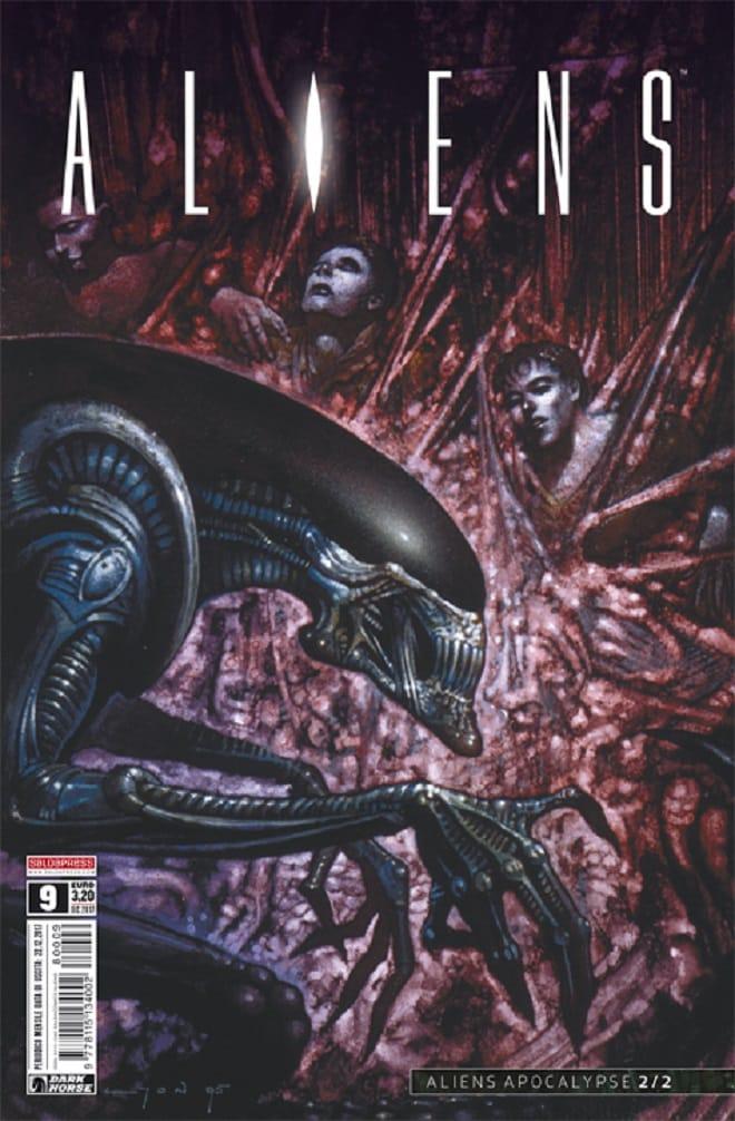Alien: è uscito il nono numero del mensile