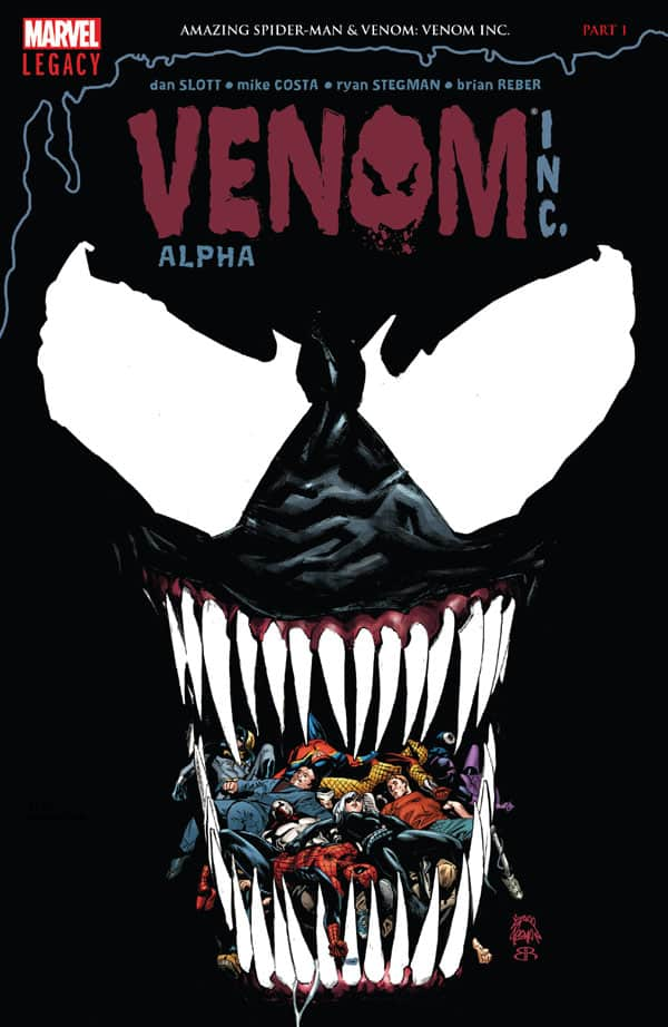 Amazing Spider-Man - Venom Inc. Alpha