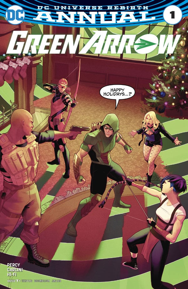 Green Arrow Annual 1