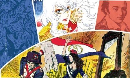 MANIFESTO MOSTRA rivoluzione francese fumetti