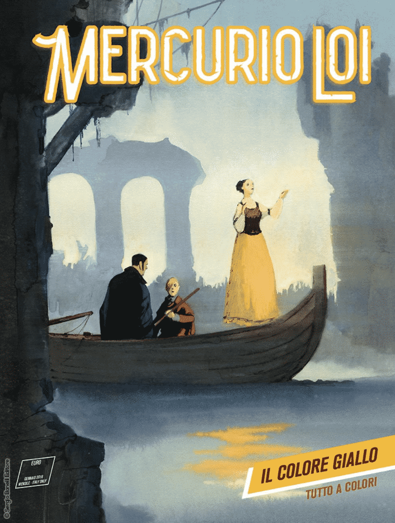 """""""Il Colore giallo"""" è il nuovo numero di Mercurio Loi"""
