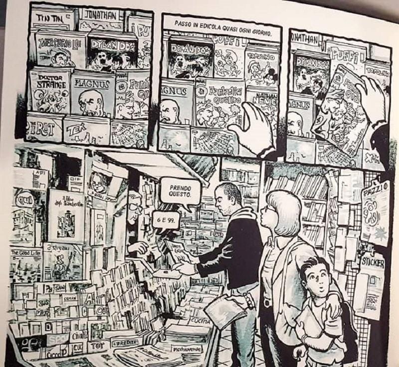 Sergio Ponchione: la vita, i maestri dei comics e i bivi