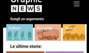 graphic news app home