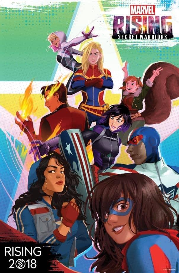 """Arriva """"Marvel Rising"""", nuovo franchise animato della Casa delle Idee"""