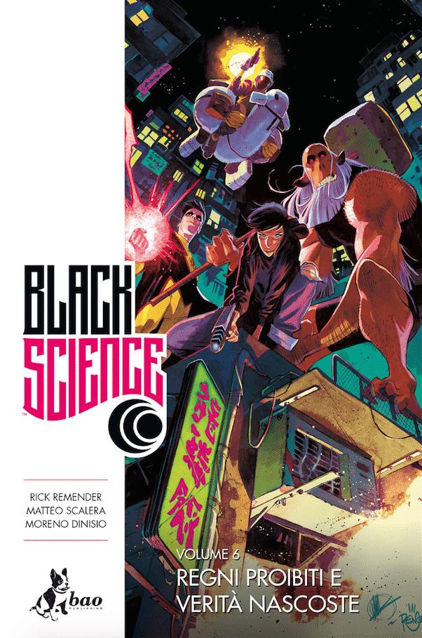 E' uscito il sesto volume di Black Science