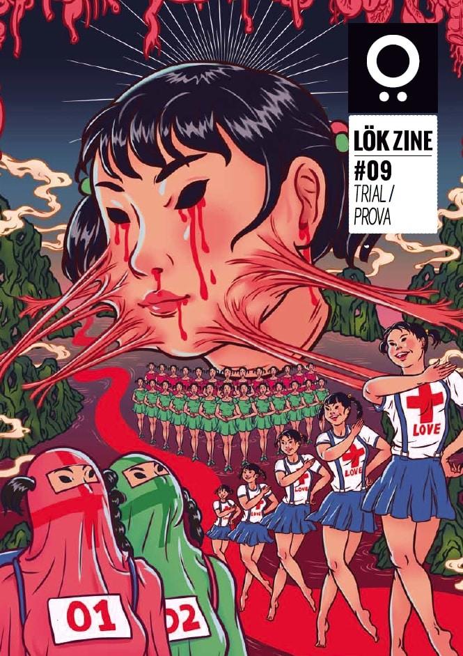 LÖK ZINE candidato al Prix de la BD Alternative 2018
