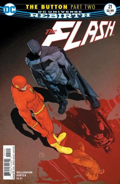 Push the button! Batman, Flash e la spilla_Recensioni