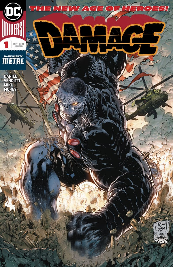 Old Man Hawkeye #1 e Damage #1 in First Issue #17_First Issue