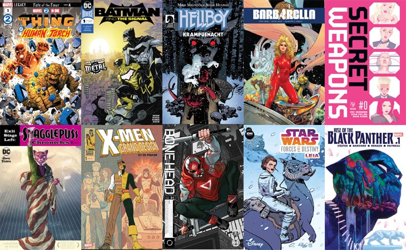 First Issue #16 – Novità Marvel e DC Comics