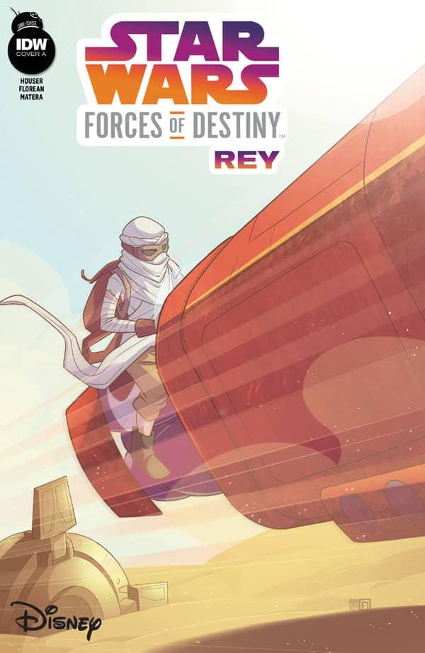 Star Wars Adventures - Forces of Destiny—Rey
