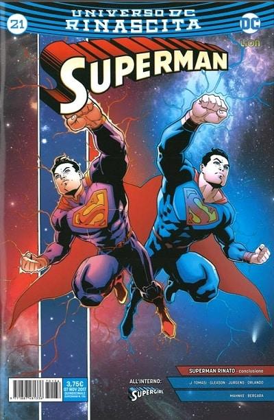 Superman #21/26: Alba nera (Tomasi, Gleason, Mahnke)