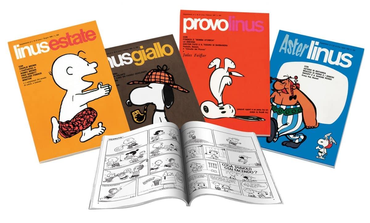 In edicola la raccolta completa dei Supplementi di Linus