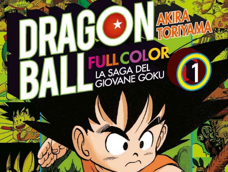 Tornano le avventure di Dragon Ball in una nuova edizione a colori