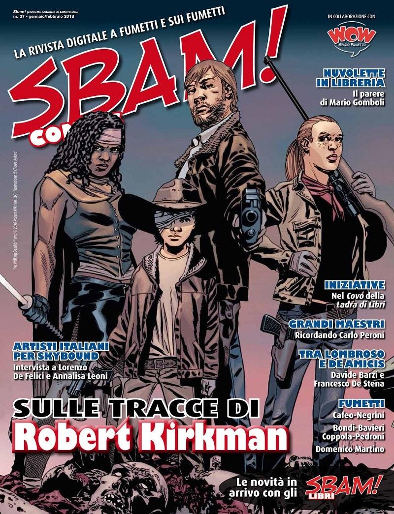 Disponibile il numero di gennaio/febbraio di SBAM! Comics